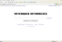ExTV Presents: Interweb Intimacies